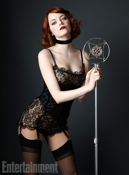 Emma Stone smoulders like never before in 'Cabaret'