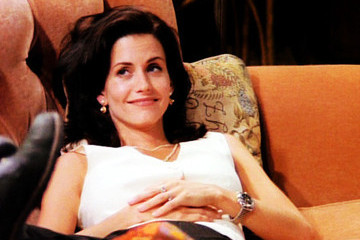 Monica Geller's Romantic Relationships on 'Friends'