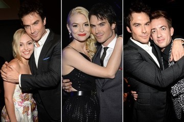 Ian Somerhalder Loves Hugging Famous People