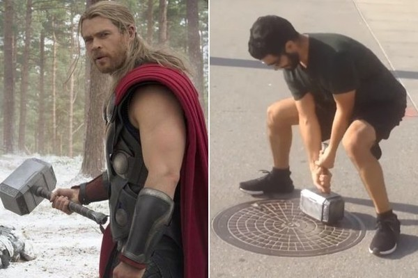 A YouTube Prankster Built a Real Version of Thor's Hammer