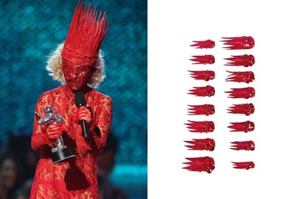 Lady Gaga's Exclusive Stick-On Nails