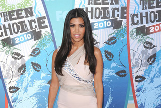 Kourtney Kardashian Voted Sexiest Long-Haired Lady