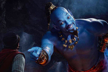 The Internet Memed The Heck Out Of Will Smith's Blue AF Genie