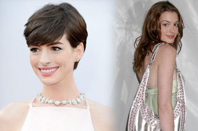 Fashion Flashback - Anne Hathaway Then & Now