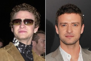 Then and Now - Justin Timberlake