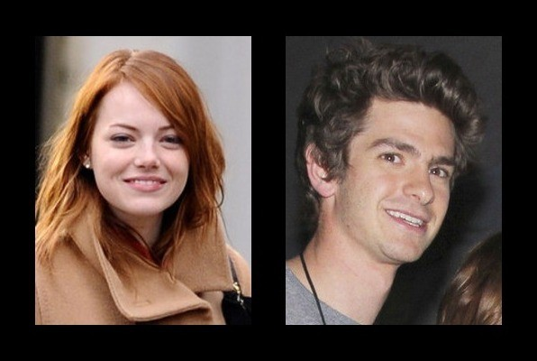 Emma Stone is dating Andrew Garfield