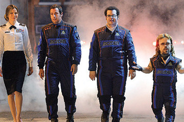First Look: Adam Sandler, Josh Gad, and Peter Dinklage in Next Summer's 'Pixels'