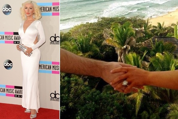 Christina Aguilera's Engagement Ring, Brad Goreski Peddles Post-Its, and More