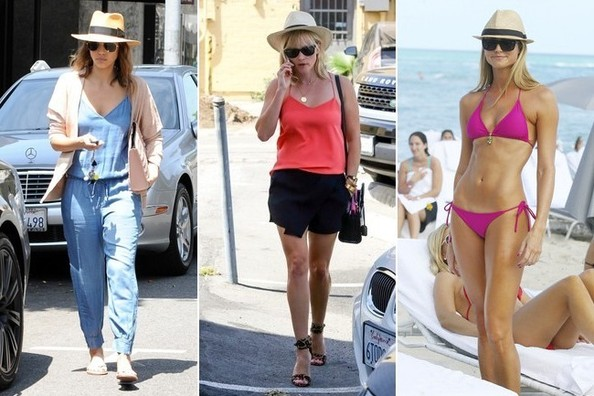 Easy Outfit Upgrade Add A Straw Hat Outfit Ideas Livingly