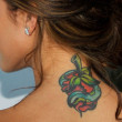 Audrina Patridge -  50 Celebrity Tattoos