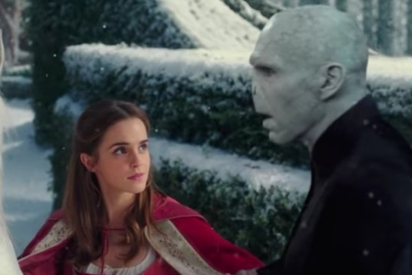 Harry Potter, 'Beauty and the Beast' meld in magical mashup