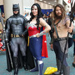 Batman, Wonder Woman, and Aquaman