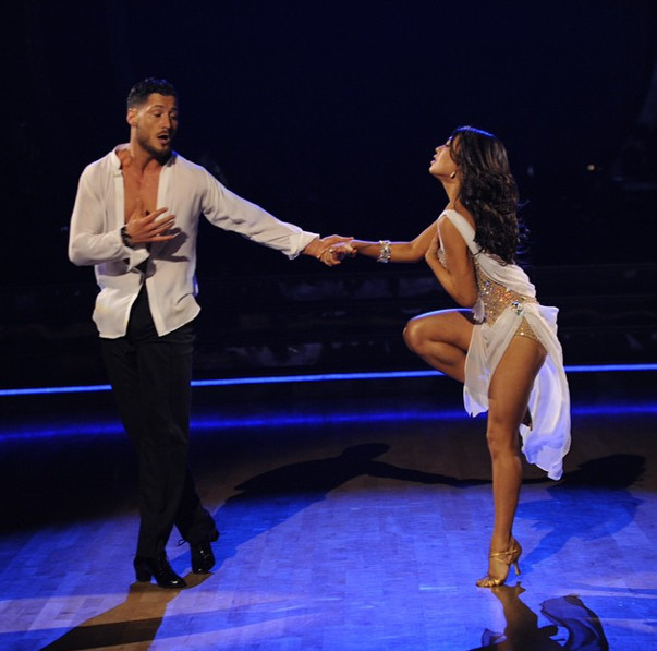 dwts season 19 week 4 janel and val relationship