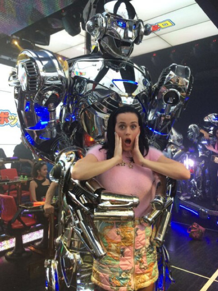 Katy Perry fell to the robot uprising.