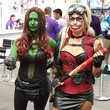 Gamora and Harley Quinn