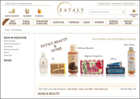 What Would Mario Batali Do? Eataly Launches Beauty E-Commerce