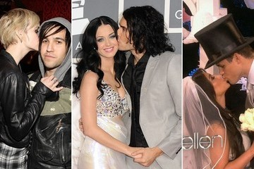 Divorce Denial - Stars Who Smooch While Separating