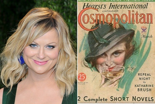 WHO Does The Lady On This Vintage 'Cosmo' Cover Remind You Of?
