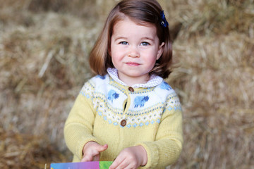 The Royals Released the Cutest Photo of Princess Charlotte to Celebrate Her Second Birthday