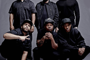 Here's the First Picture of Young Ice Cube, Eazy E, and Dre from 'Straight Outta Compton'