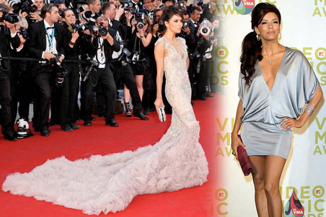 Fashion Flashback - Eva Longoria Then & Now