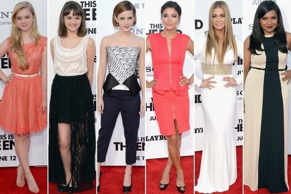 Best Dressed at the 'This Is The End' Premiere - Vote For Your Favorite!