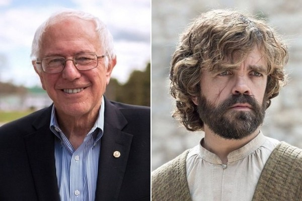Sick Bern: Americans Would Rather Have Sanders or Tyrion Lannister As President Than Clinton, Trump