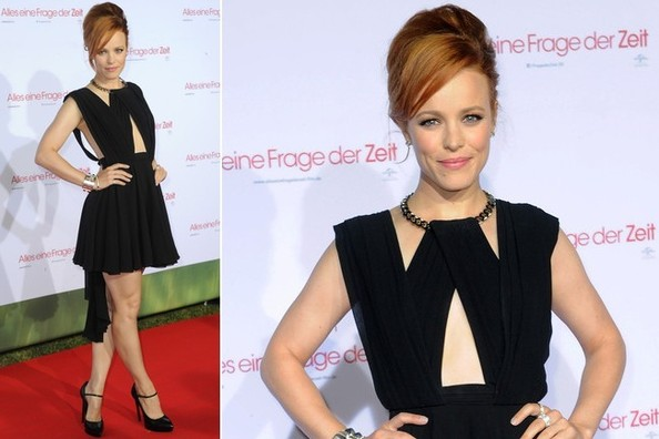 Rachel McAdams Makes an LBD Unforgettable