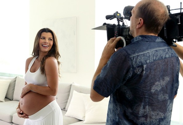 Ali Landry Bares Her Baby Bump for New Campaign