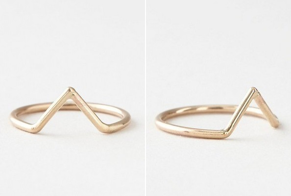 StyleBistro STUFF: Gold Dart Ring