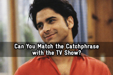 Can You Match the Catchphrase to the TV Show?