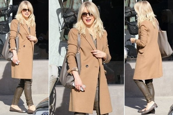 On Our Holiday Wish List: A Camel Coat