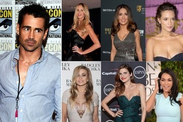 Colin Farrell's Impressive Roster of Ex-Girlfriends