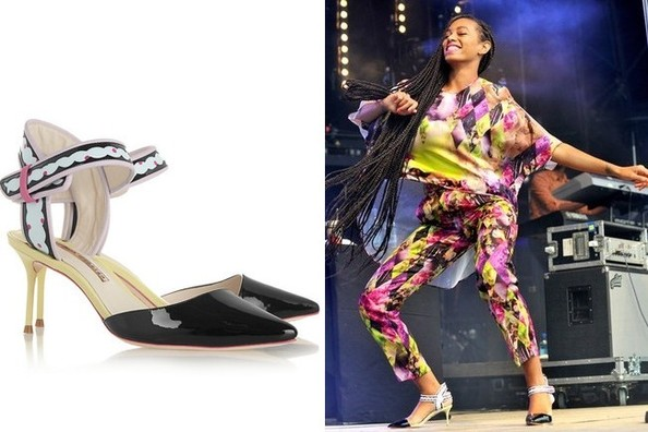 Get the Look - Solange Knowles' Colorful Glastonbury Shoes