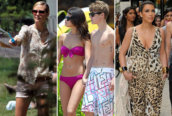 How the Stars Are Spending Their Summer Vacations