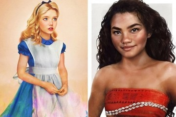 Here's What Tons of Disney Characters Would Look Like in Real Life