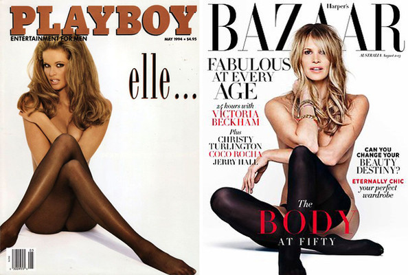 Elle MacPherson Recreates 'Playboy' Cover for 'Harper's Bazaar,' Apple Taps YSL CEO, and More!