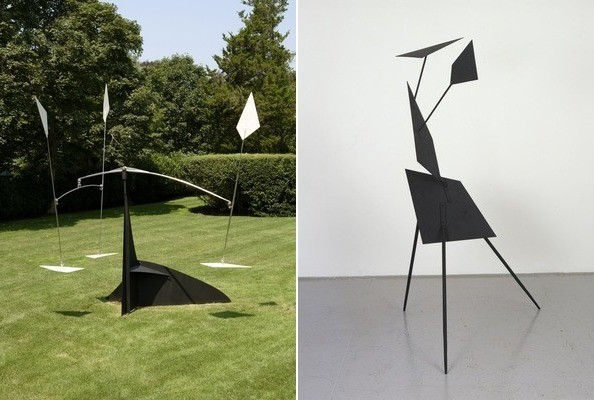 Calder sculptures at Sudeley Castle
