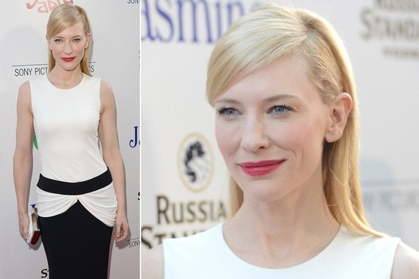 Cate Blanchett's Black-and-White Elegance