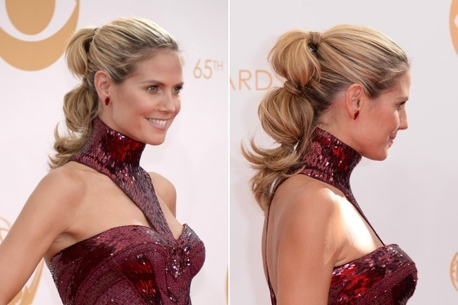 Hair Trend Report: Segmented Ponytails are Hollywood's New Thing
