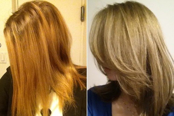 A Lesson On Recovering From Bad Bad Highlights Hair Ideas Livingly