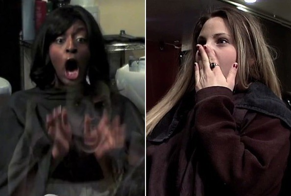 Horror Movie Pulls Terrifying Prank on Hair Salon Customers [VIDEO]