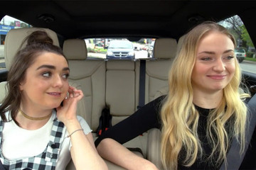 Maisie Williams and Sophie Turner Just Gave Us the Best Ned Stark Impersonation on 'Carpool Karaoke'