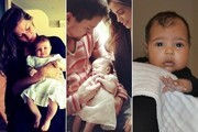 Celebrity Babies and Their First Social Media Close-Up