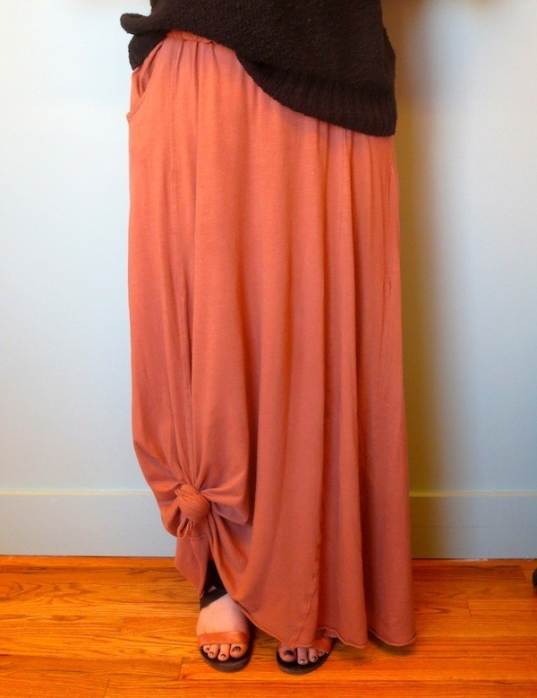 How to Keep Your Maxi Skirt From Dragging on the Ground—Without Wearing Heels!