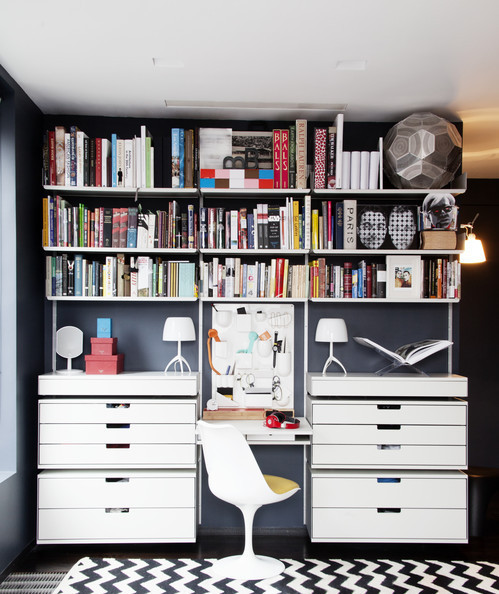 A New Old Way To Organize A Bookshelf