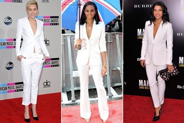 Now Trending: Winter White Power Suits