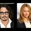 Johnny Depp dated Vanessa Paradis