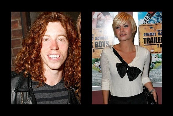 Shaun White was rumored to be with Elisha Cuthbert