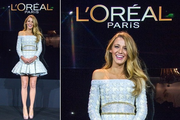 This Just In: Blake Lively is the Newest Face of L'Oreal Paris!